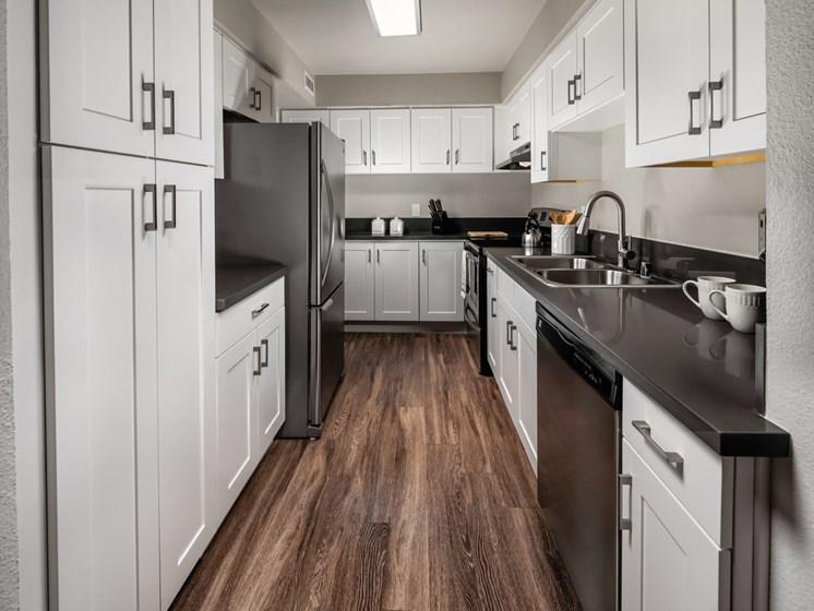 Stainless Steel Appliances In Kitchen at Warner Villa, Woodland Hills, 91367