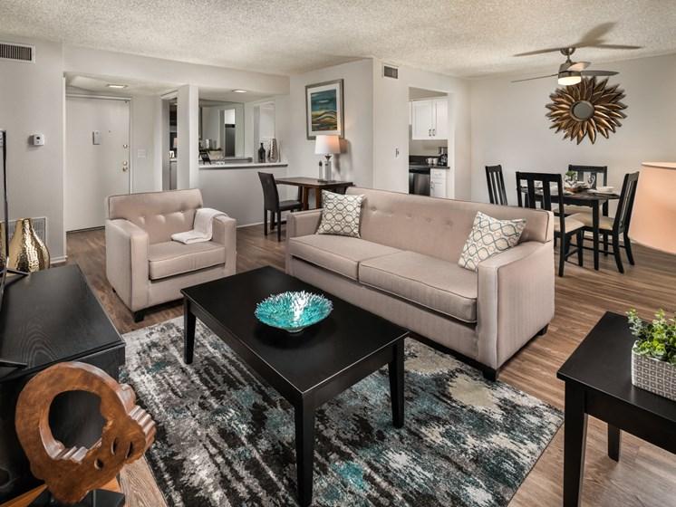 Alternate View Of Living Room at Warner Villa, California