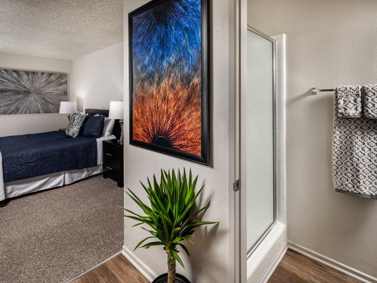 Bathroom Accessories at Warner Villa, Woodland Hills, CA, 91367