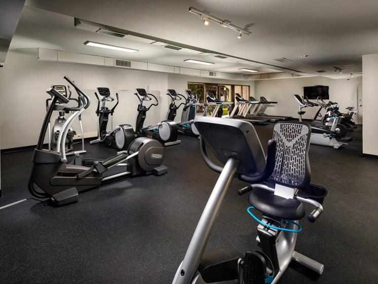 Fitness Center at Warner Villa, Woodland Hills, CA
