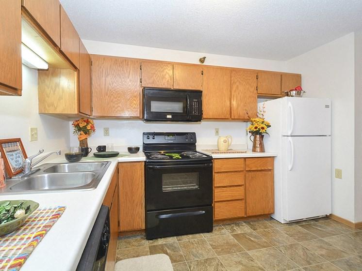 Black and White Kitchen Appliances