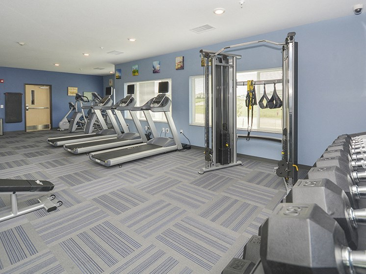 Fitness Center with Cardio