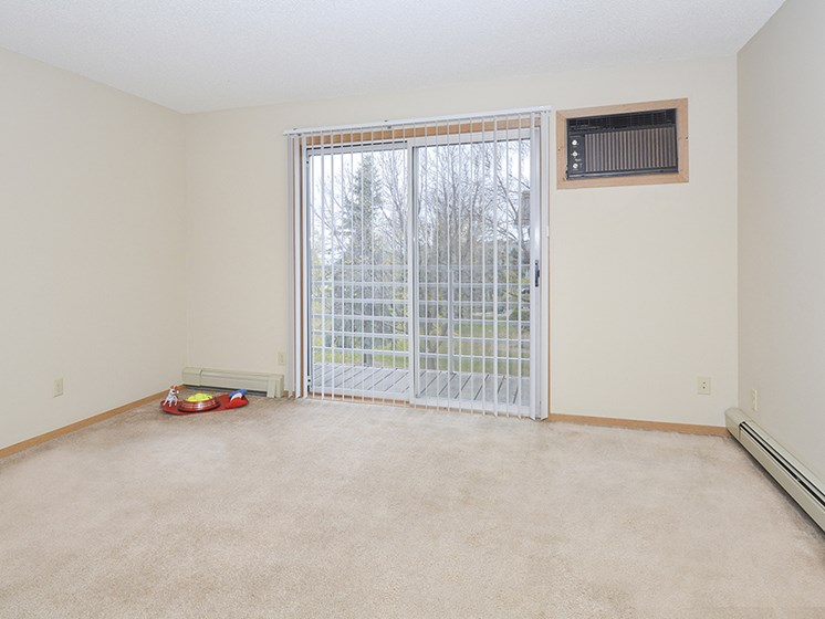 Sliding Door to Patio or Balcony