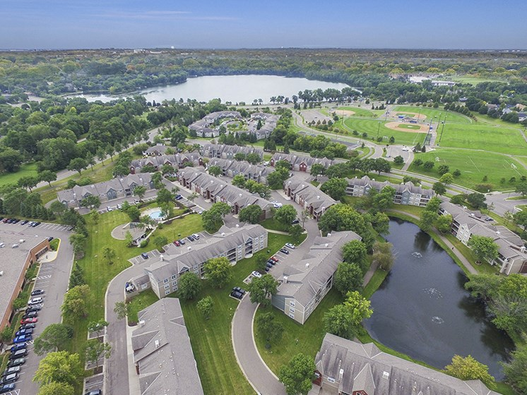 Aerial Photo of Parkers Lake