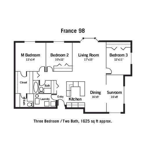 Marceille Floor Plan 2