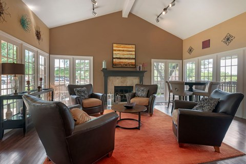 Canyon Ridge Clubhouse with Fireplace