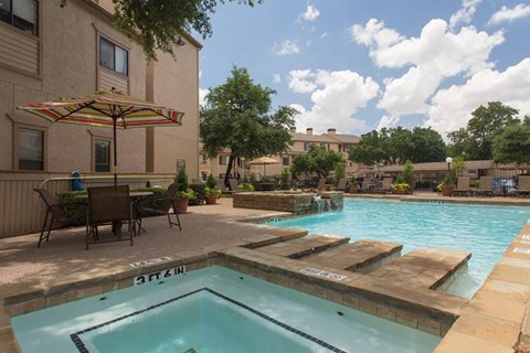 Casa Valley Apartments Irving, TX Swimming Pool and Spa