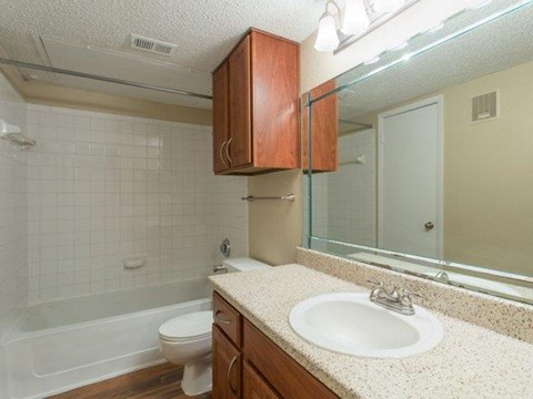 Cinnamon Park Apartments Arlington, TX Bathroom