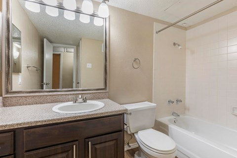 Bathroom with Vanity Lighting