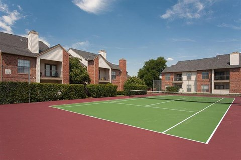 Summer Meadows Apartment Homes Plano, TX Tennis Courts