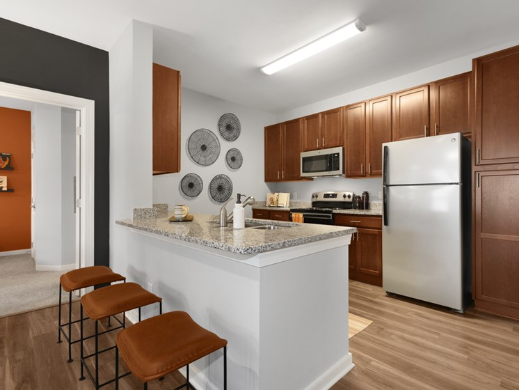 All Electric Kitchen at Abberly Avera Apartment Homes, Virginia, 20109