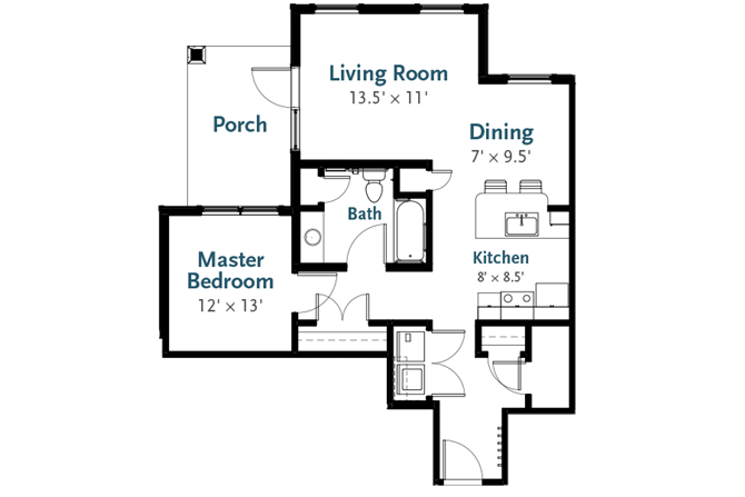 Cascade - Garden Apartment at Deerfield Place, Utica, NY