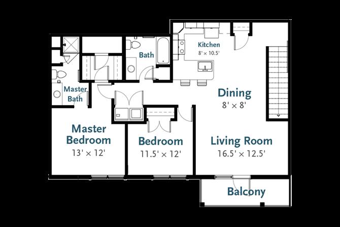 Vanguard - Garden Apartment at Deerfield Place, New York