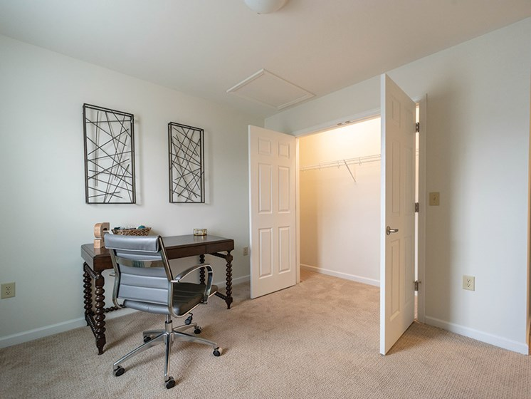 Large Closet Space at Deerfield Place Luxury Apartments, Utica, NY