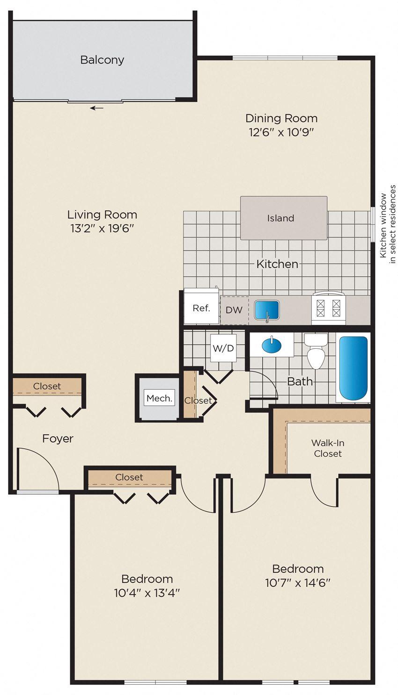 2 Bedroom, 1 Bath - Renovated