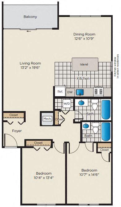 2 Bedroom, 2 Bath - Renovated