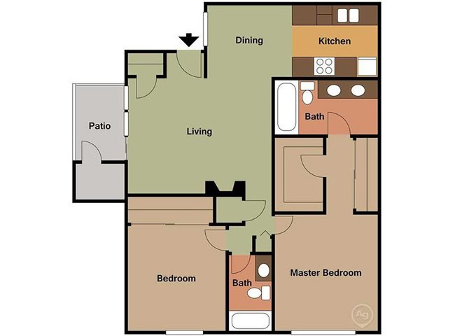EMERALD Floor Plan 2