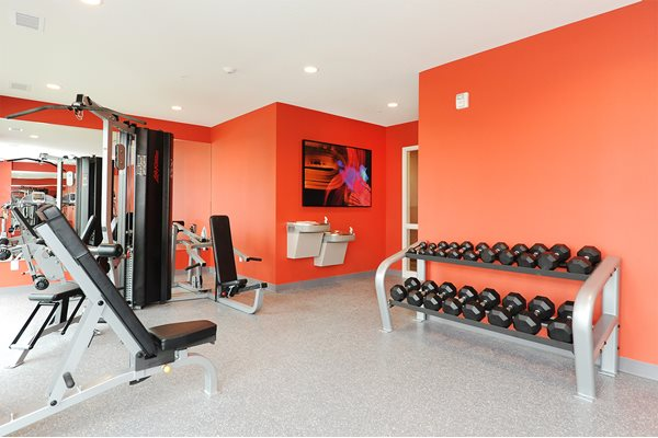 Fitness Center at Spectrum Apartments Townhomes Minneapolis