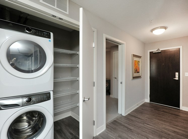 In-Home Washer and Dryer at Spectrum Apartments Townhomes Minneapolis
