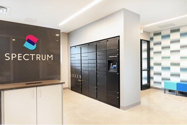 Package and Mail Receiving Lockers at Spectrum Apartments Townhomes Minneapolis