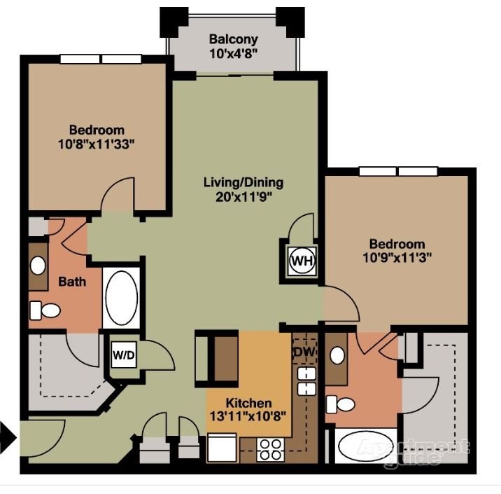 1, 2 & 3 Bedroom Apartments In Smyrna, TN
