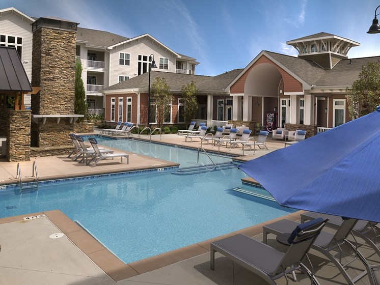 Lounging by the Pool at Grand Oak at Town Park, Smyrna, 37167
