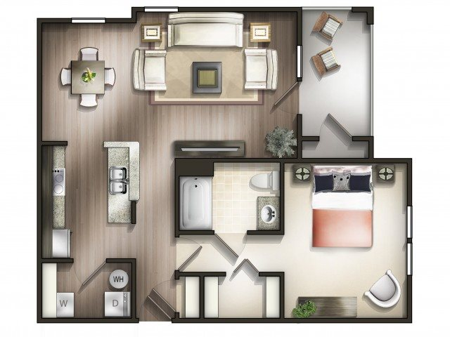 1 2 3 Bedroom Apartments In Smyrna Tn Copperfield Apartments