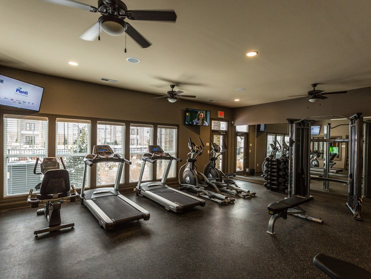 Modern Fitness Center at Copperfield Apartments, Smyrna