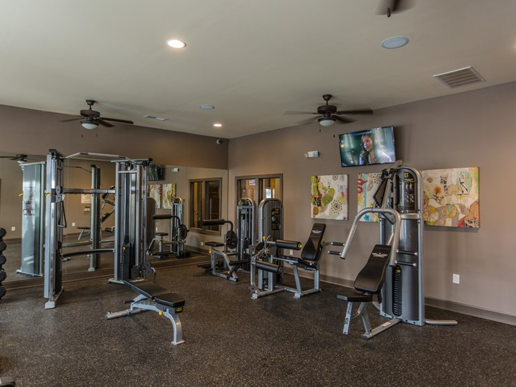 High Endurance Fitness Center at Copperfield Apartments, Tennessee