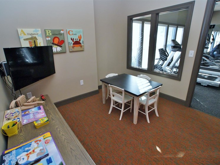 Play Room Next To Fitness Center at Copperfield Apartments, Tennessee, 37167
