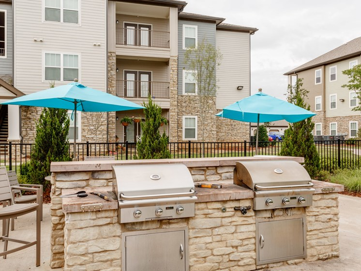Outdoor Grill at Copperfield Apartments, Smyrna, TN