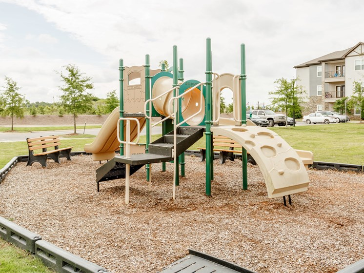 Play Structure at Copperfield Apartments, Smyrna