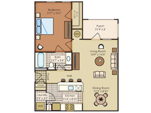 Floor plan at Marquee Station, Fuquay-Varina, 27526