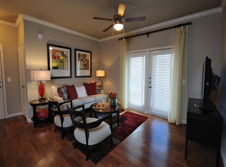 Faux Wood Blinds at Falls at Eagle Creek, Humble,Texas