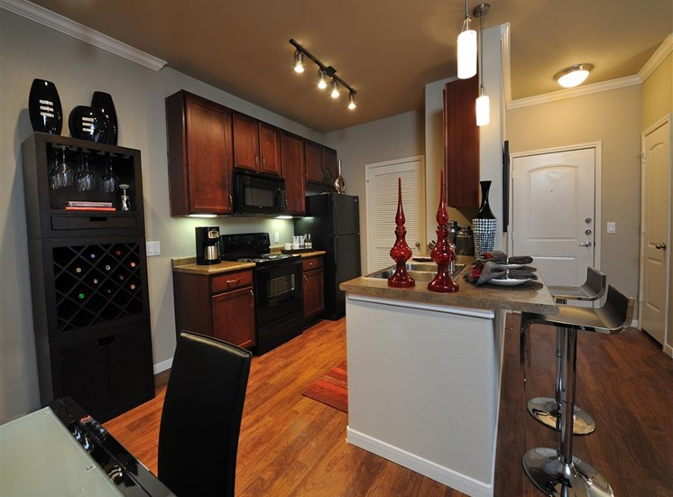 Kitchen Cabinets at Falls at Eagle Creek, Humble, TX 77396
