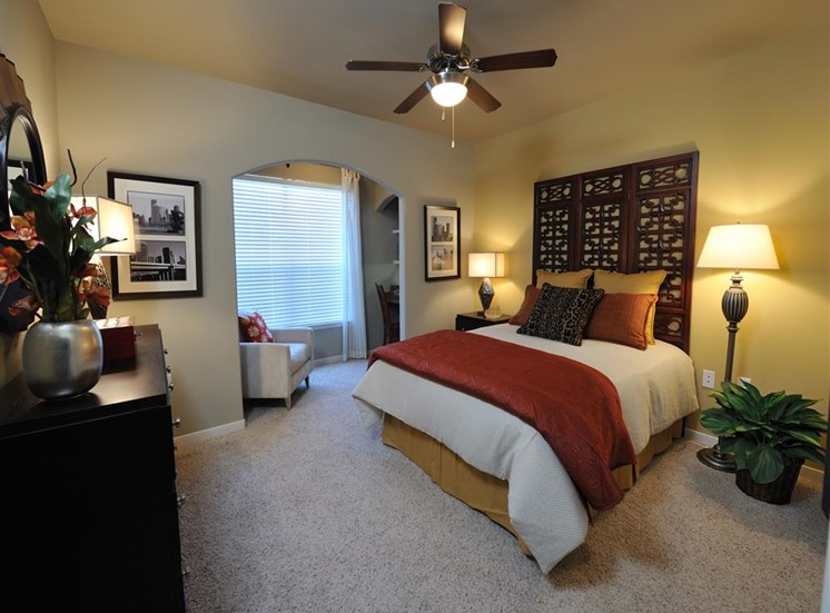 King-Sized Bedrooms at Falls at Eagle Creek, Humble