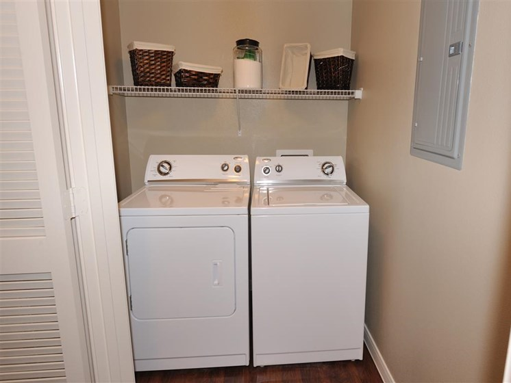 Washers/Dryers Available at Falls at Eagle Creek, Humble,Texas