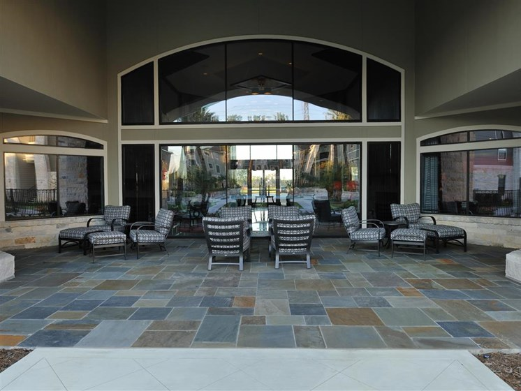 Poolside Gathering Area at Falls at Eagle Creek, Humble, TX 77396