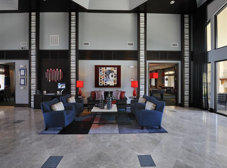 Expansive Clubhouse at Landing at Round Rock, Round Rock, TX