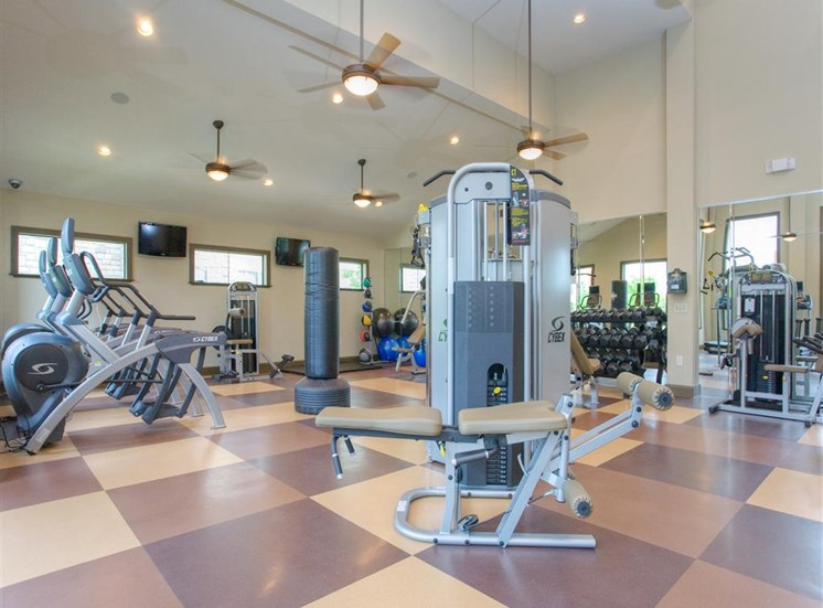 Cardio Equipment at Yorktown Crossing, Houston,Texas
