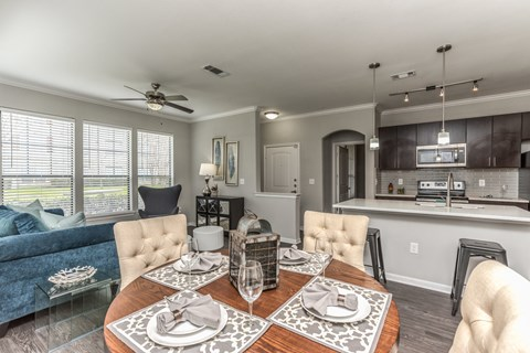 Open Kitchen at Yorktown Crossing, Texas