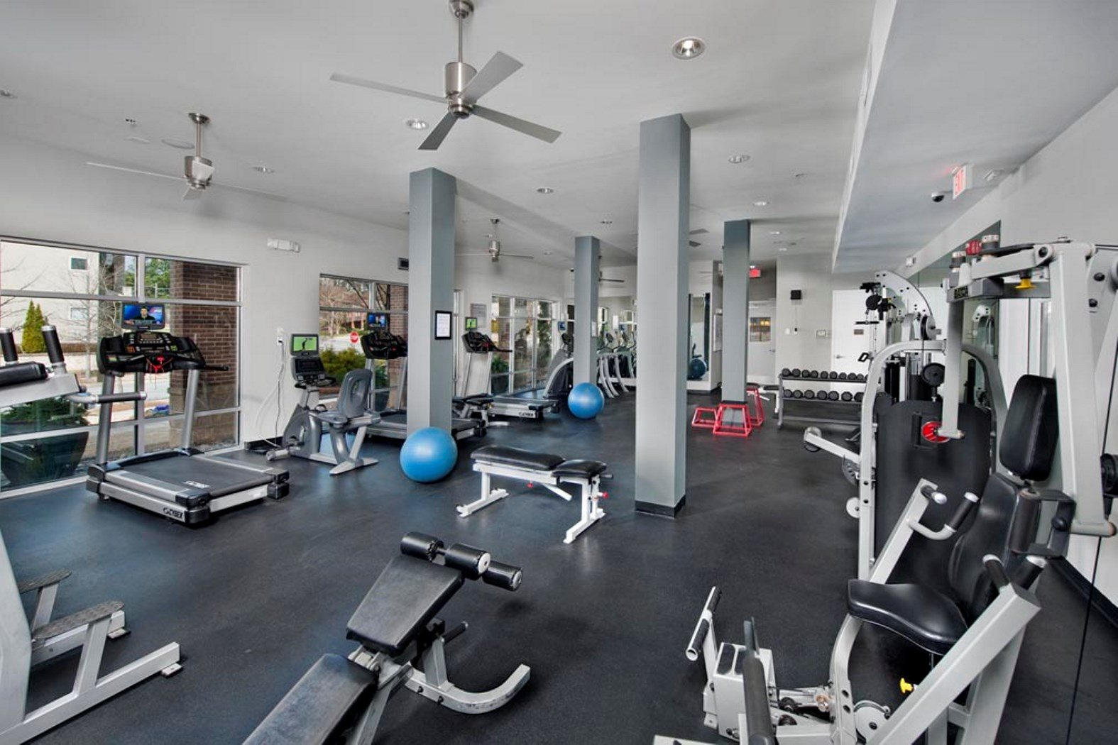 Fitness Center with Separate Spin Room at Sorelle, Atlanta,Georgia