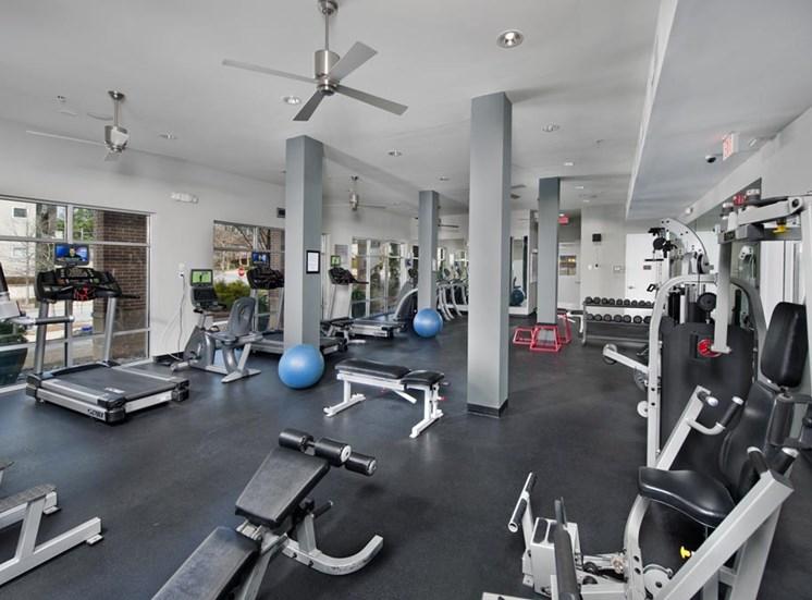 Fitness Center with Cardio Equipment at Sorelle, Georgia