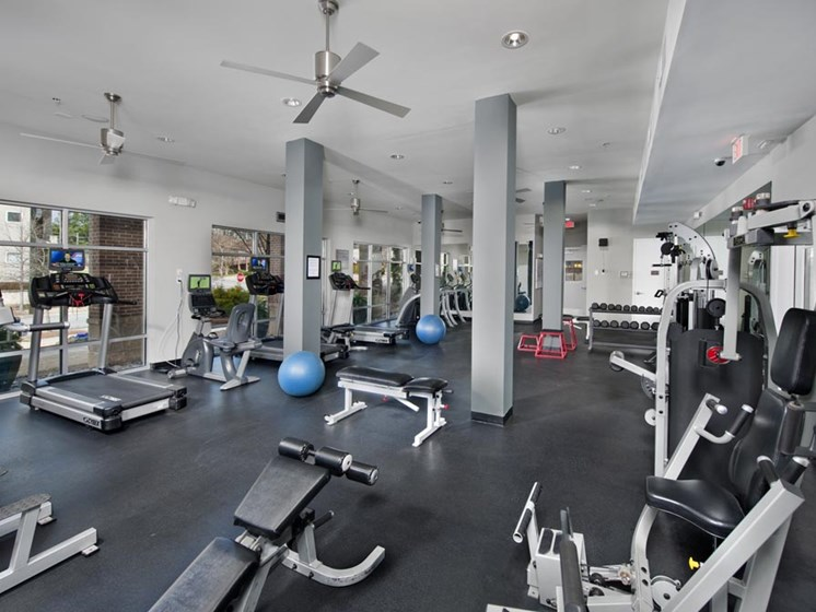 Fitness Center with Cardio Equipment at Sorelle, Georgia