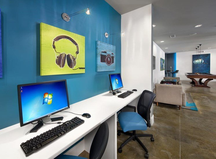 Computer Lab at Sorelle, Atlanta