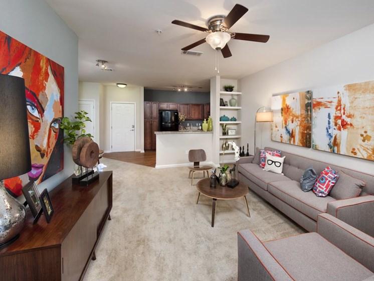 Open Floor plan with Upgraded Interior