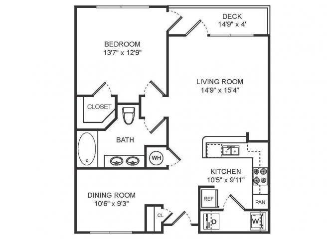 BAILEY Floor plan at Sorelle, Georgia