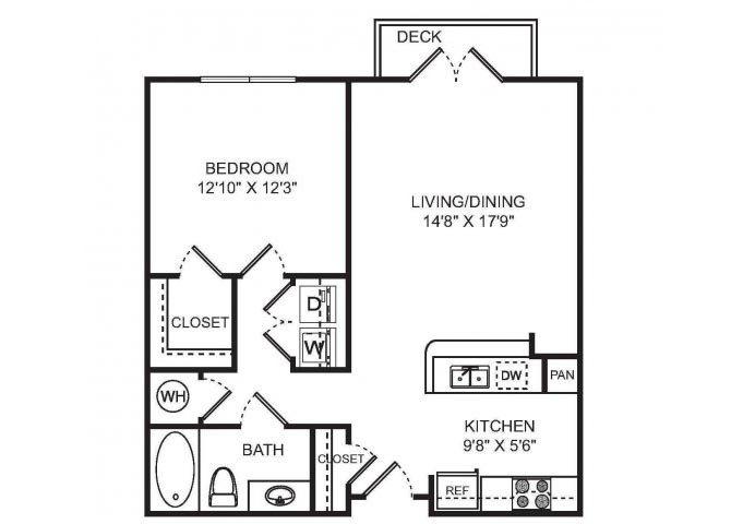 DESTINY Floor plan at Sorelle, Atlanta,Georgia