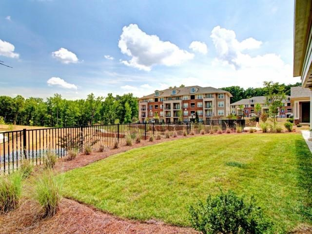 Lush Landscaping at Alexander Village, Charlotte