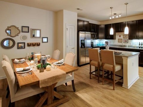 Tile and Hardwood Inspired Flooring at Alexander Village, Charlotte,North Carolina